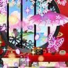 花天月地の桜姫インテリアガチャ