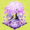 紫桜月の夜にオブジェガチャ