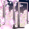 華燭夜桜の祝祭インテリアガチャ