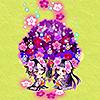 花桃が浮かぶ夜にオブジェガチャ